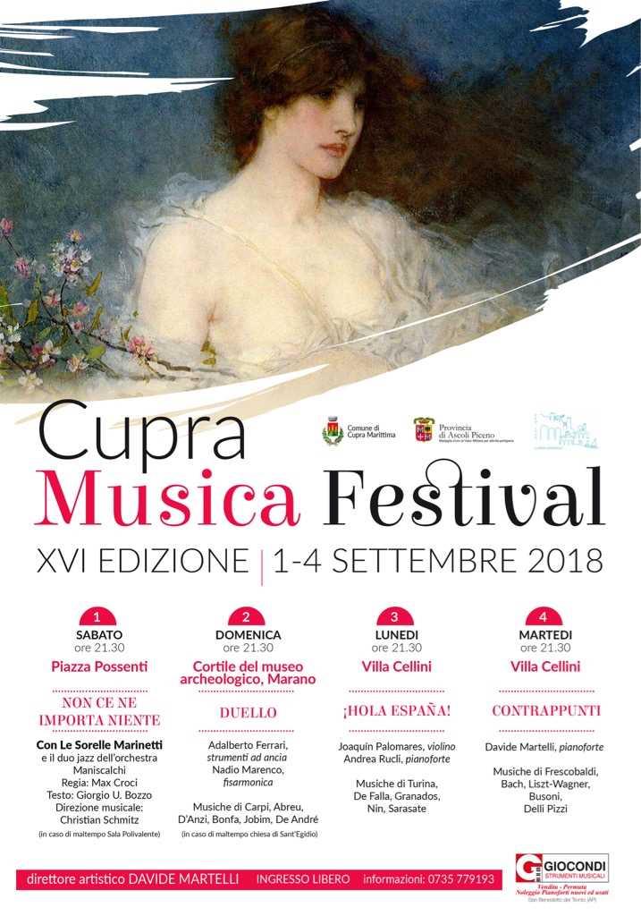 """Il """"Cupra Musica Festival"""" chiude l'estate cuprense"""