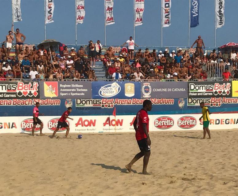 Beach Soccer, la Samb vince in rimonta ed approda alla semifinale scudetto