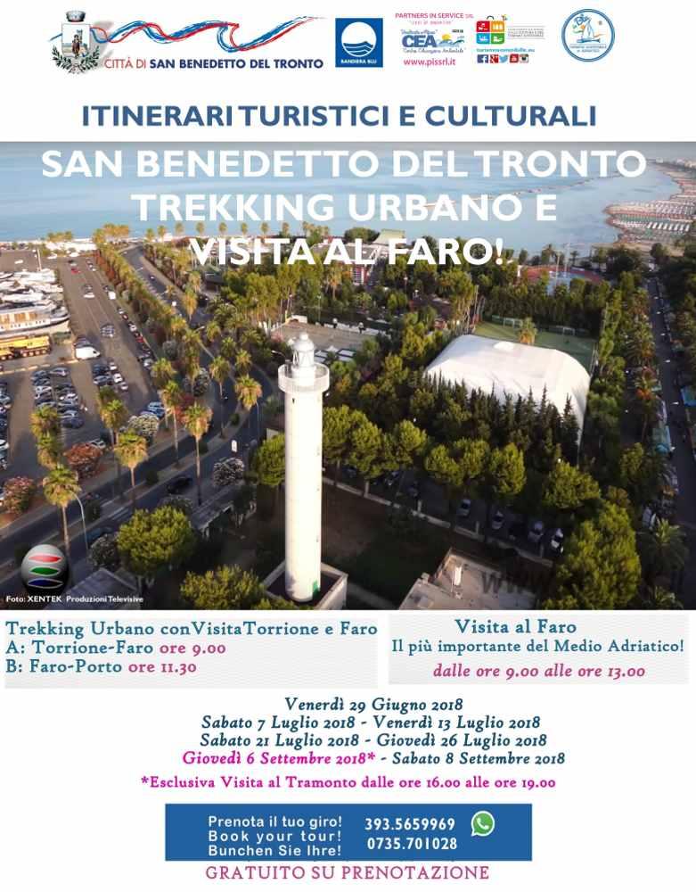 Trekking Urbano: Torrione, Porto e… Faro al Tramonto!