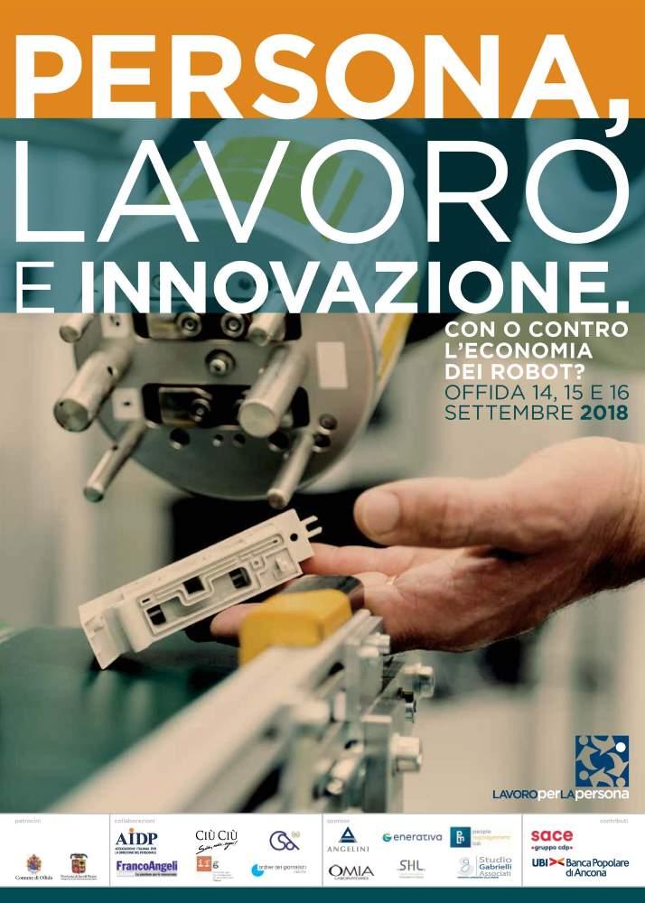"""Seminario """"Persona, Lavoro e Innovazione: con o contro l'economia dei robot?"""""""