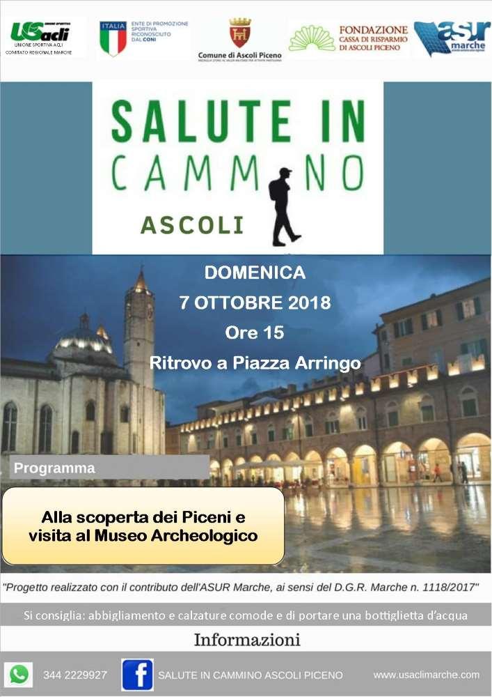 "Prosegue ""Salute in cammino Ascoli"""