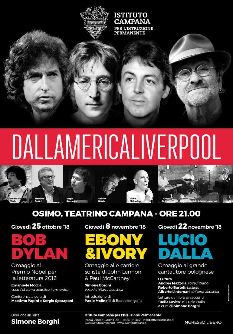 Dallamericaliverpool con Lucio Dalla al Campana