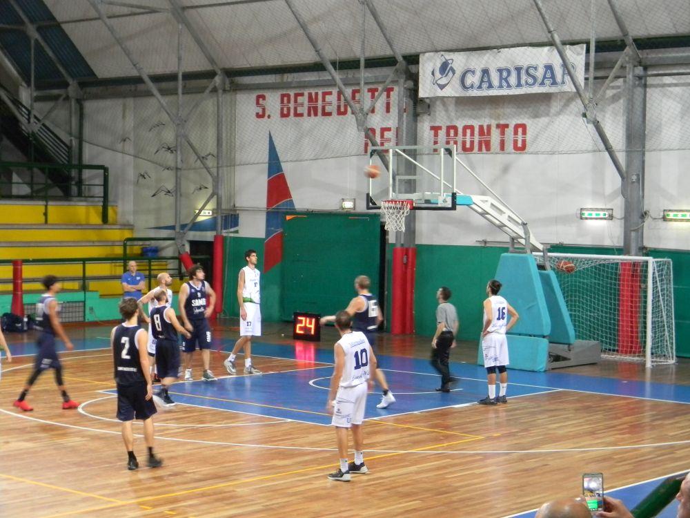 Basket: Samb – Foligno sospesa per black out al PalaSpeca
