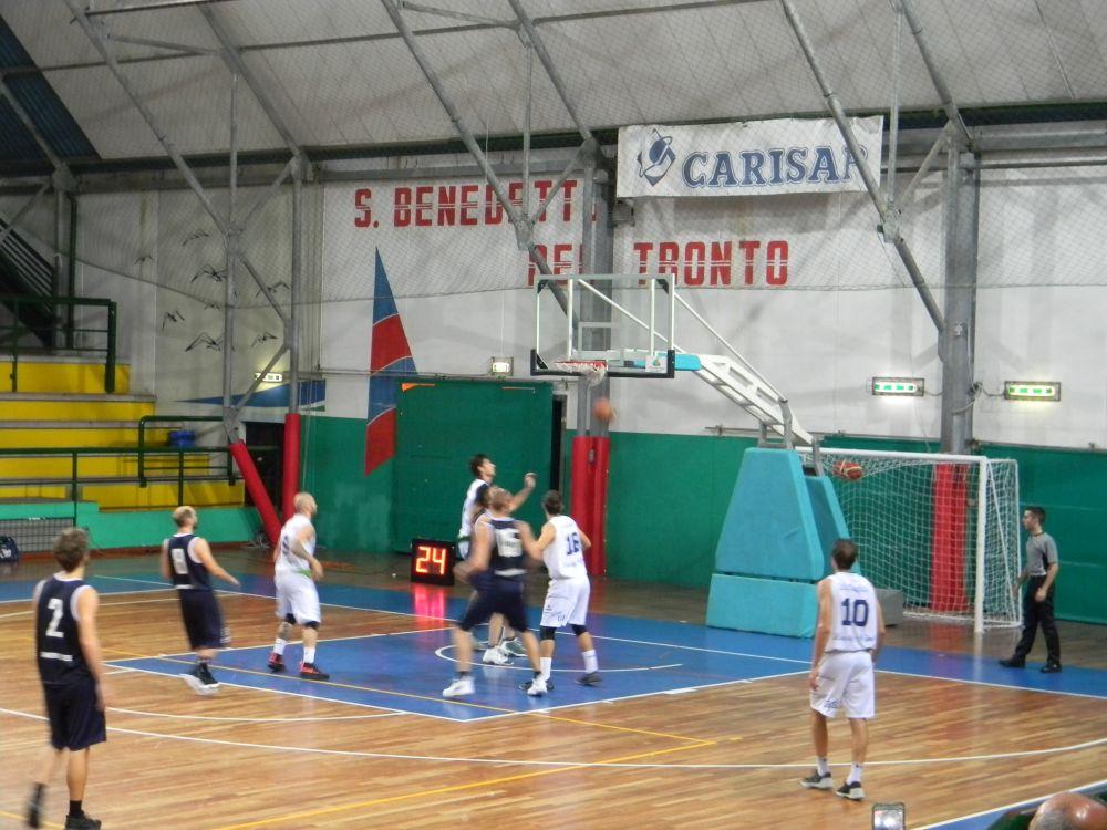 Sambenedettese Basket – Ubs Foligno: incontro sospeso per blackout