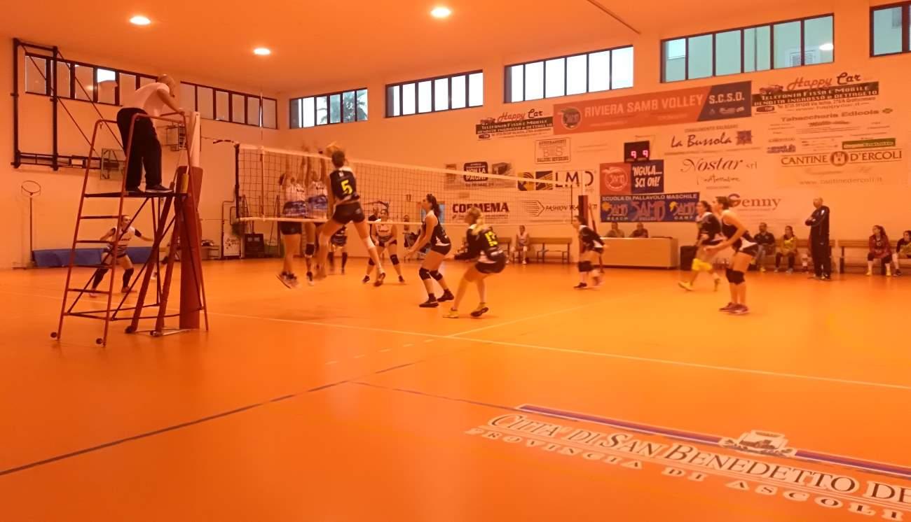 Samb volley: sabato amaro per le squadre di Serie D