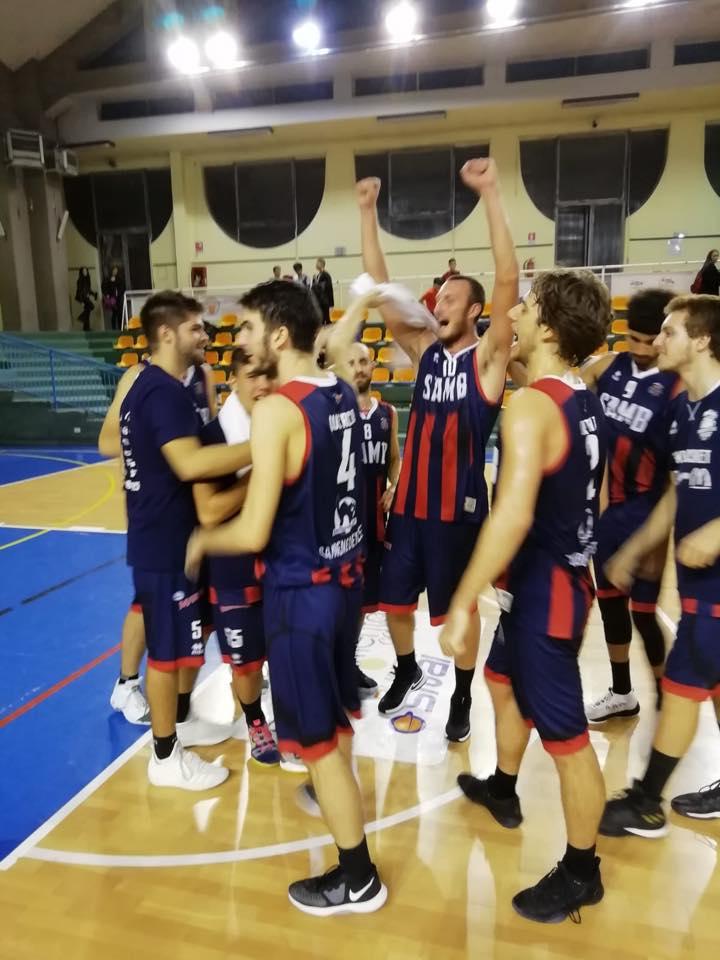 Basket, Isernia – Sambenedettese 58 a 68