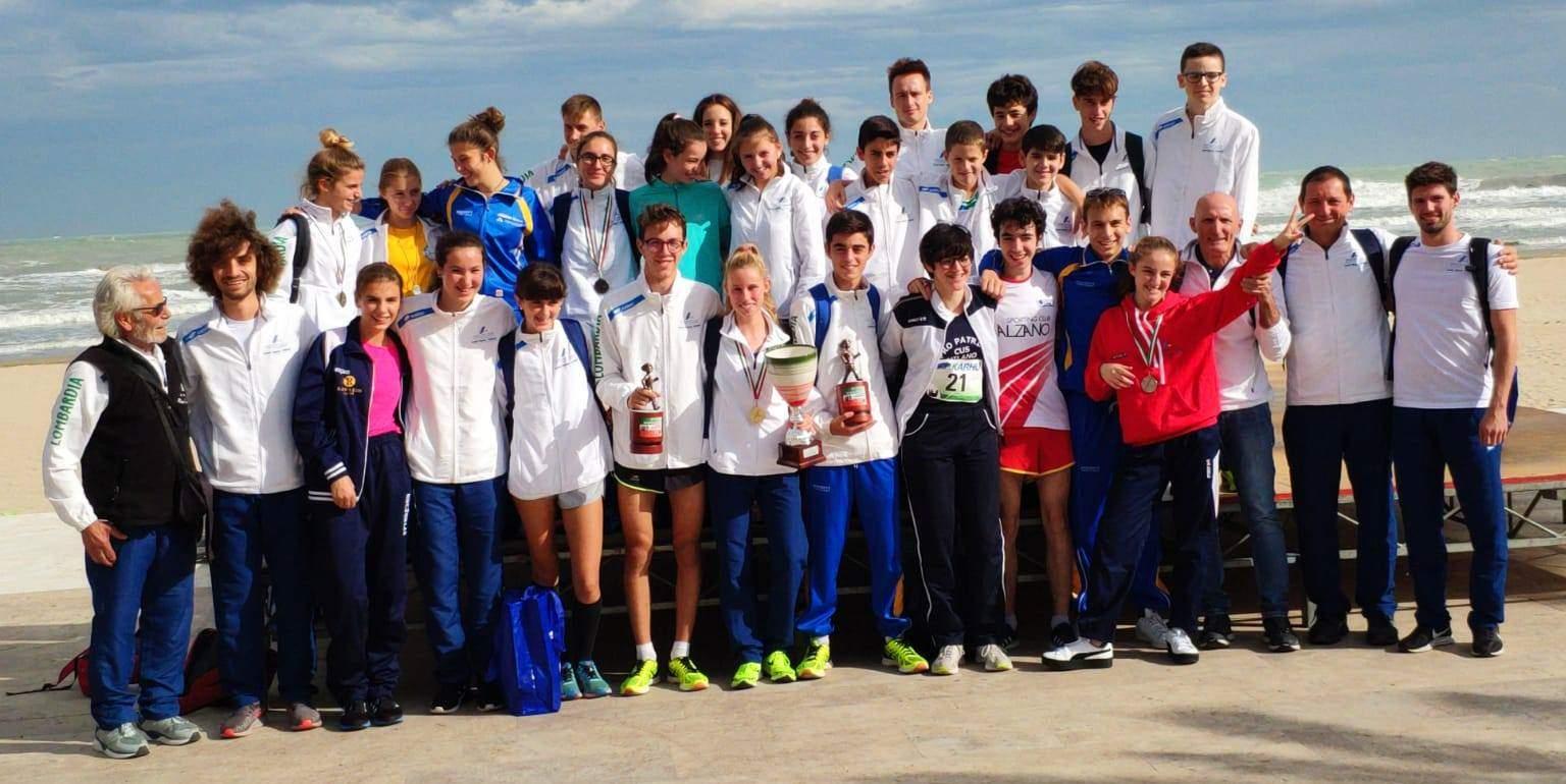 Grottammare: trofeo di marcia alla Lombardia