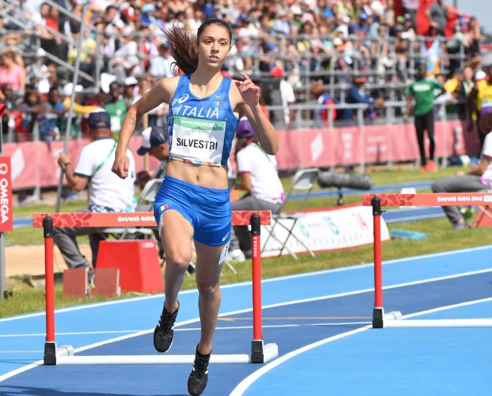 EmmaSilvestri 5a alle Olimpiadi Giovanili di Buenos Aires con un imprevisto