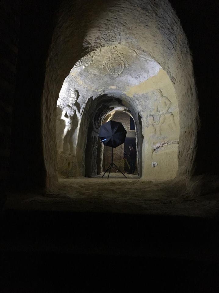 Continua l'impegno dell'Istituto Campana per la salvaguardia delle grotte decorate sotto Palazzo Campana