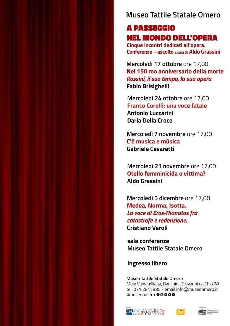 A passeggio nel mondo dell'Opera: Rossini, il suo tempo, la sua opera