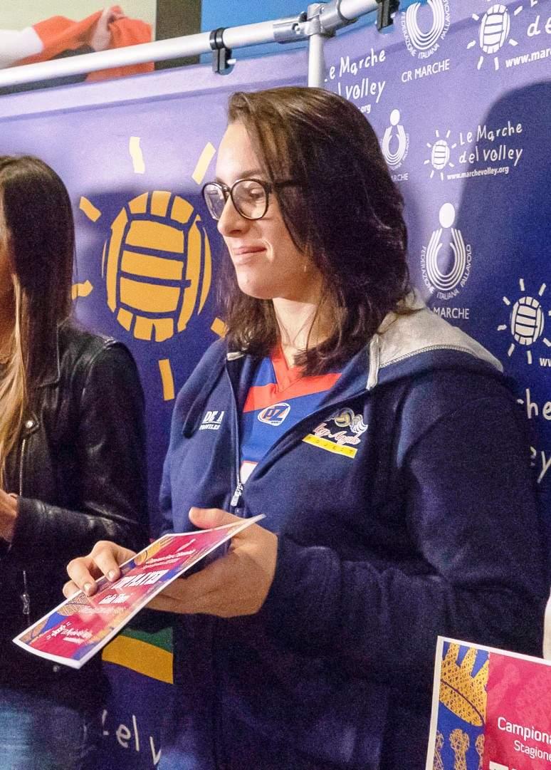 Giulia Tiberi della Volley Angels tra le sette Top Player