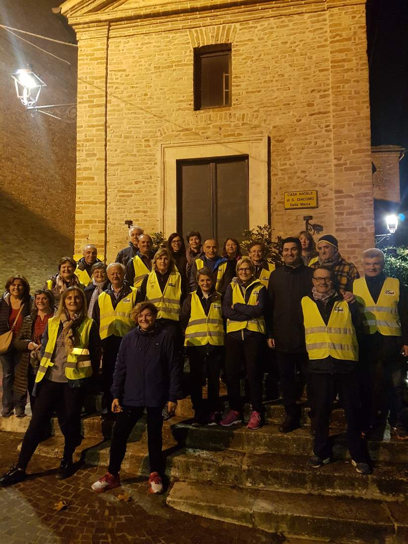 """Tanti partecipanti alla """"Camminata per San Giacomo della Marca"""""""