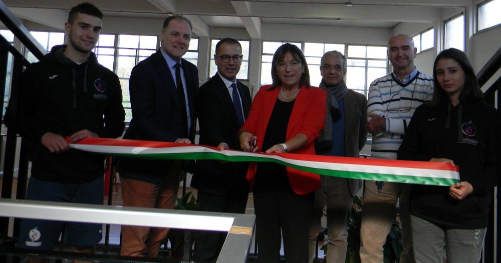 """Inaugurato il """"Laboratorio Sportivo 3.0"""" al Liceo Scientifico Rosetti"""
