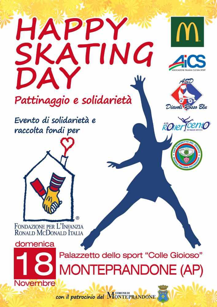 Happy Skating Day, sui pattini per solidarietà