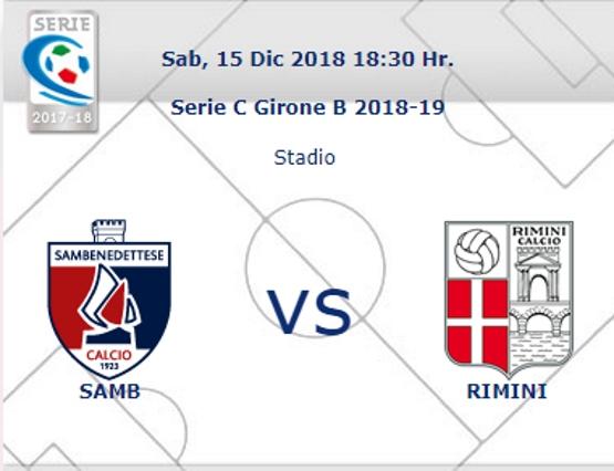 Samb – Rimini: arbitra Andrea Colombo di Como