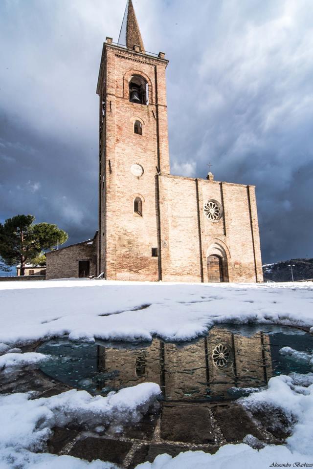 che freddo che fa… a Castignano