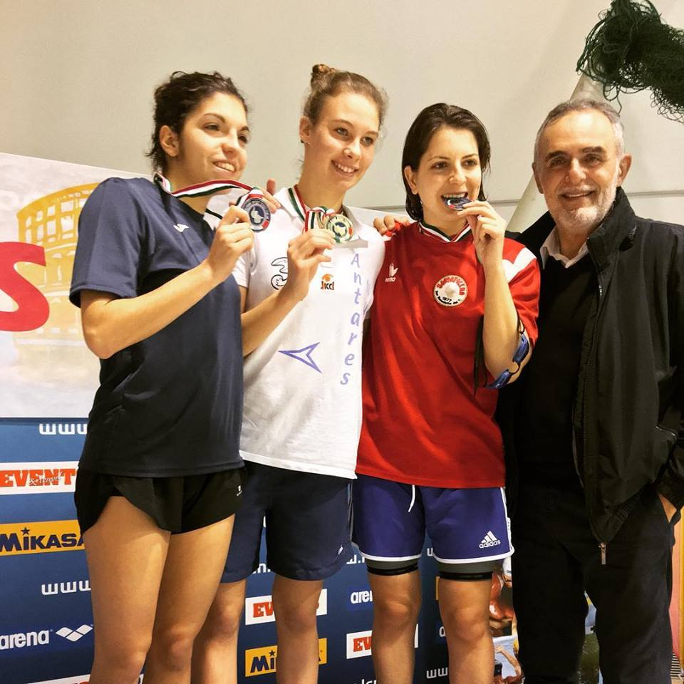 Incetta di medaglie della Sordapicena ai campionati italiani nuoto Fssi