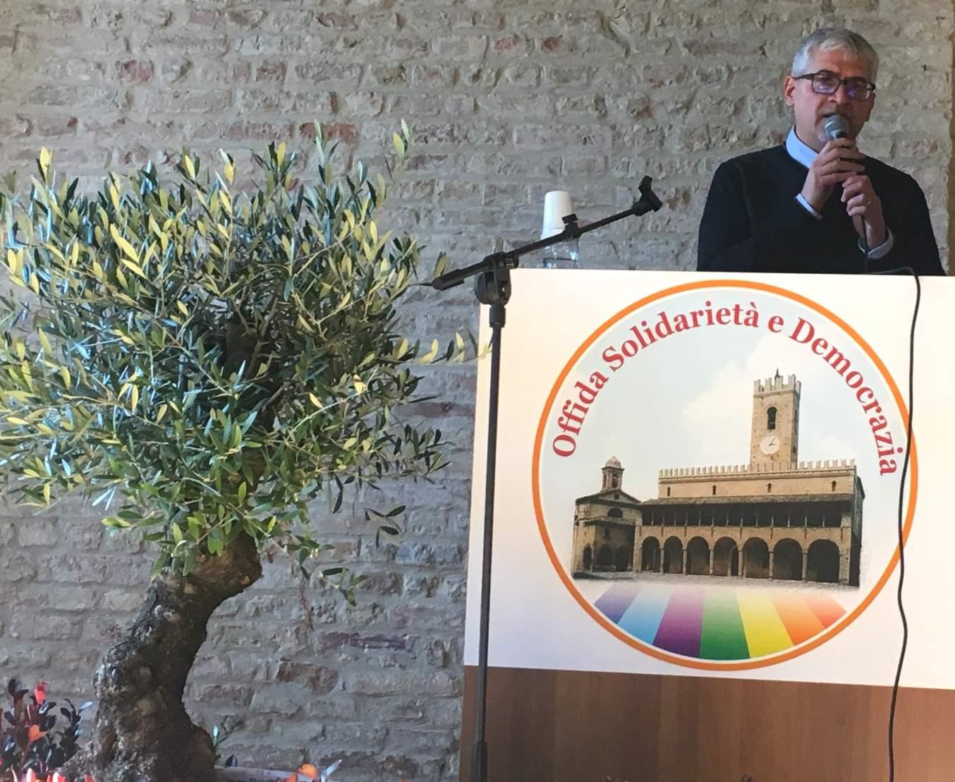 Luigi Massa, candidato Sindaco di Offida Solidarietà e Democrazia, apre la campagna elettorale