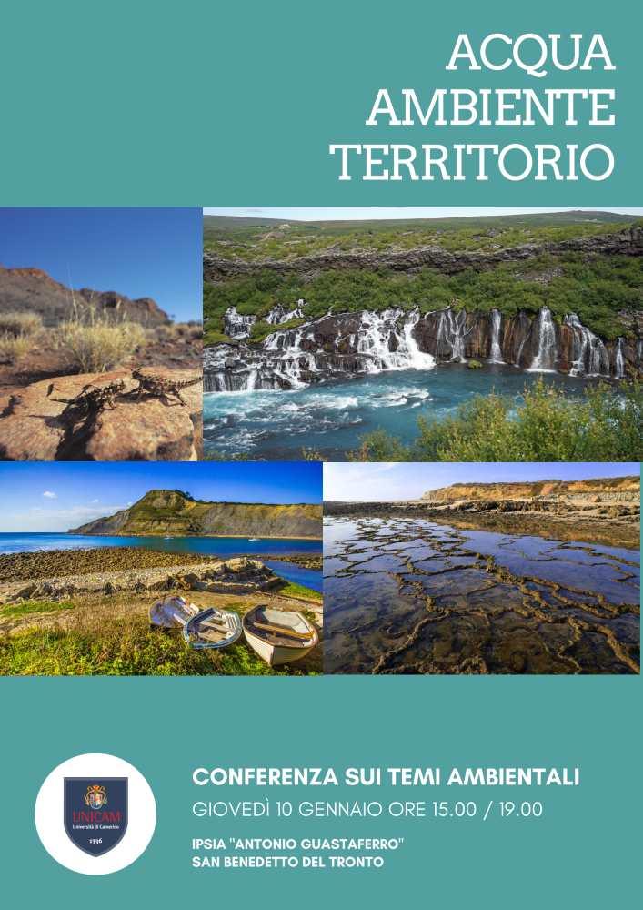 Acqua, Ambiente e Territorio: seminario Ipsia – UniCam