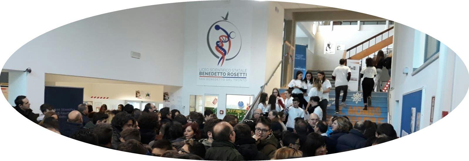 Grande l'affluenza al Liceo Scientifico Rosetti per l'Open Day