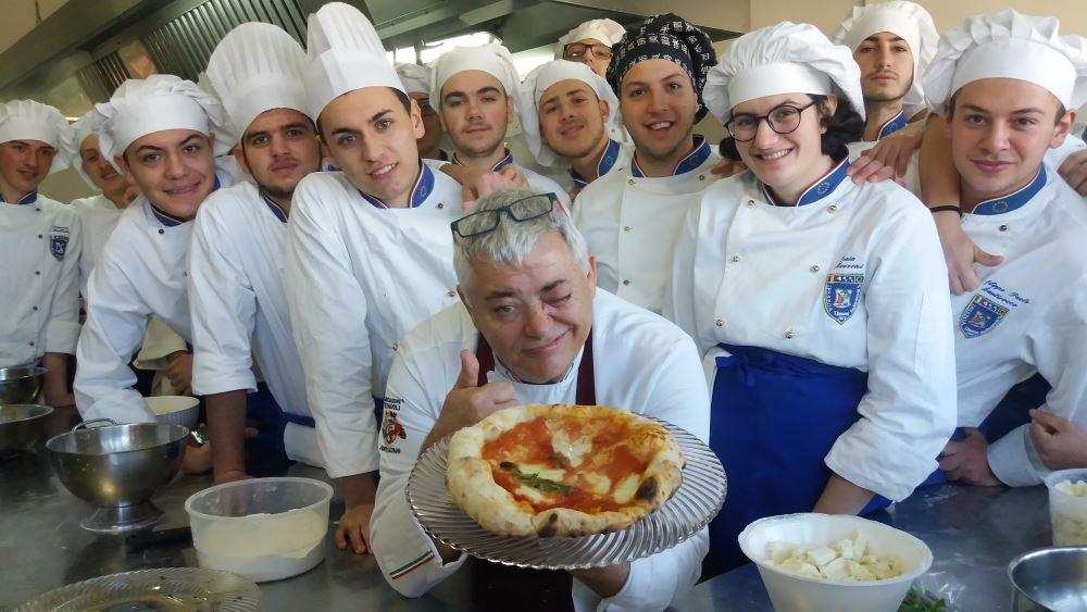 Al via pizzaioli napoletani del futuro all'Alberghiero Buscemi