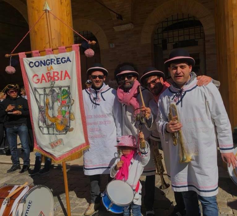 Carnevale offidano: le chiavi della Città a La Gabbia