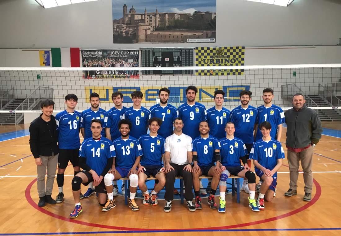 Il Cus Urbino ai campionati nazionali universitari di Volley maschili
