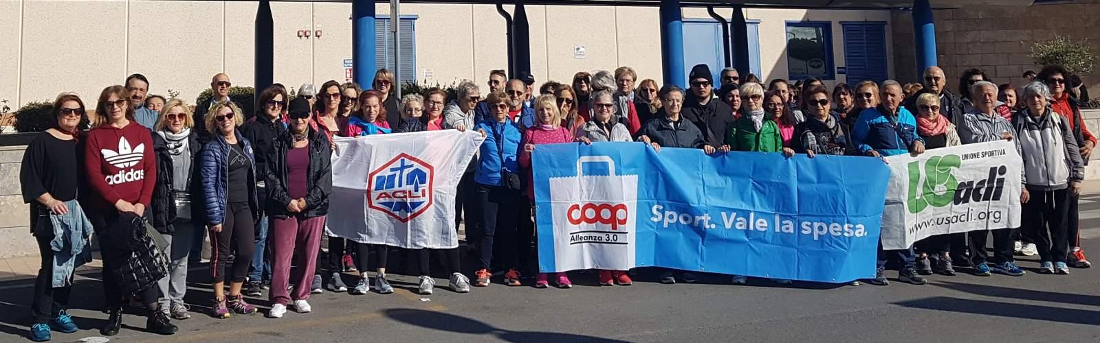 Boom di partecipanti per la camminata organizzata in occasione dellaGiornata internazionale della donna