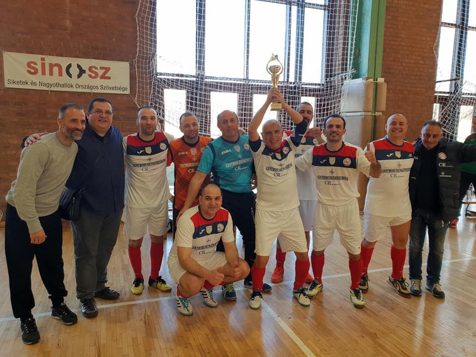 Calcio a 5 over 40, la Sordapicena vince triangolare internazionale a Budapest