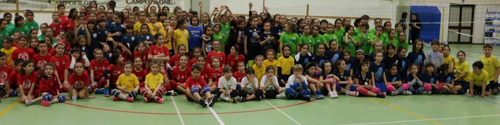 Giocavolley con oltre 100 squadre di 14 società a Fermo