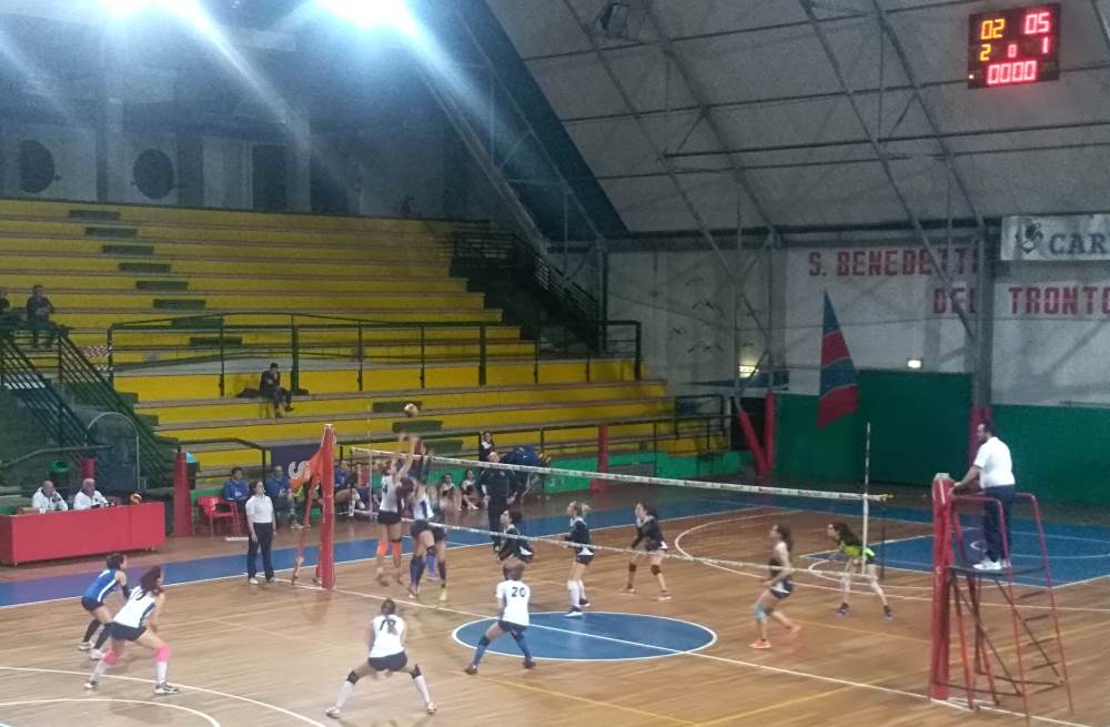 Samb Volley serie D: doppia sconfitta, doppio 3-2, doppio umore