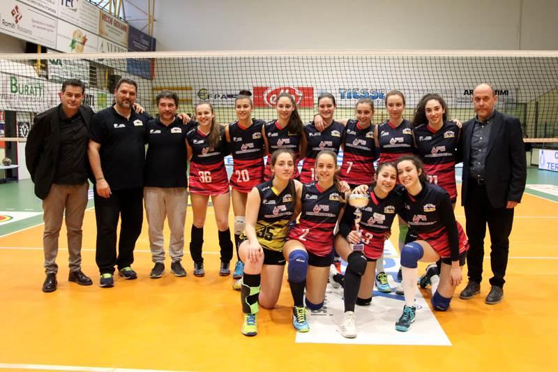 Alla Volley Angels il titolo provinciale nel campionato U16 femminile