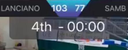 PallaCanestro, la Samb Basket perde nettamente a Lanciano