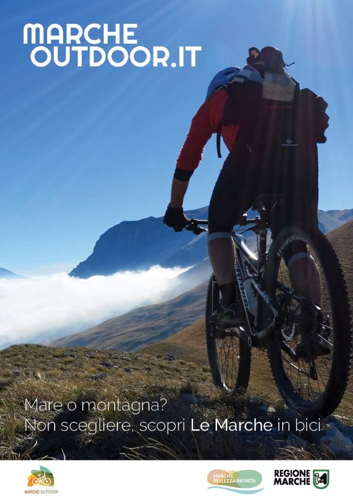 Mare o Montagna? Non scegliere, scopri Le Marche in bici