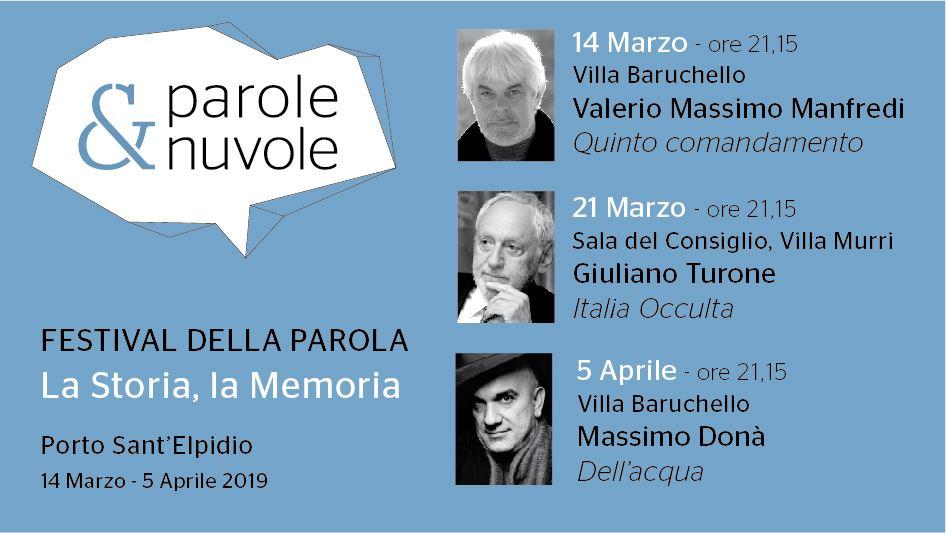 Valerio Massimo Manfredi apre Parole & Nuvole
