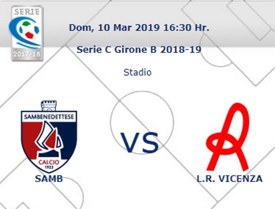 Samb – Vicenza: arbitra Mario Cascone