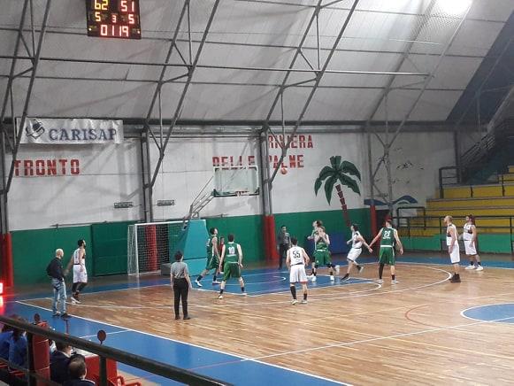 Basket, Serie C Gold: Samb Basket – Bartoli Mechanics Fossombrone 78 – 73