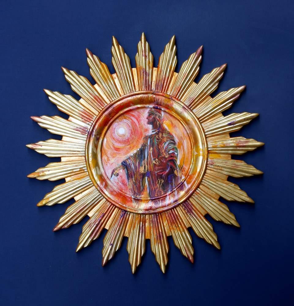 Quando il pensiero è libero e ribelle,Mario Vespasiani dipinge l'eretico Cecco