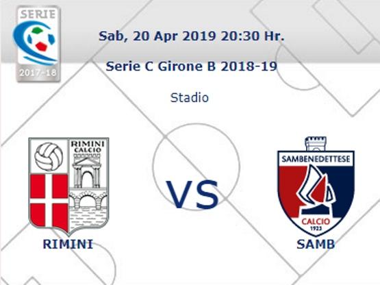 Rimini – Samb: arbitra Meleleo di Casarano
