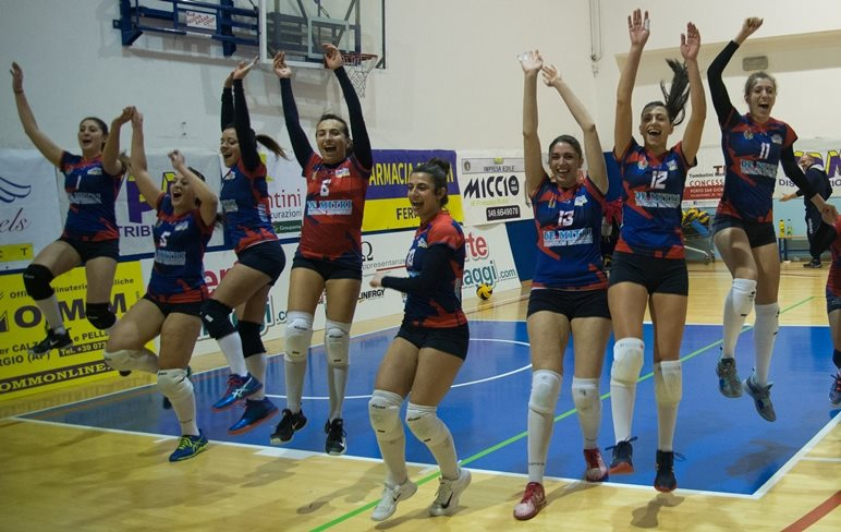 PallaVolo, serie B2 femminile: si ferma a Noci la serie positiva della Volley Angels
