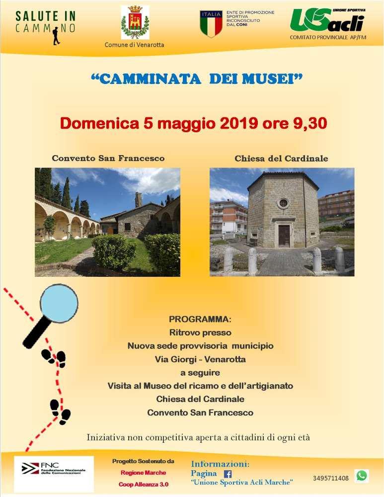 """La """"Camminata dei musei"""" fa tappa a Venarotta"""