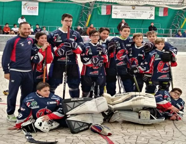 Hockey in line U16: Samb 5a assoluta in Italia