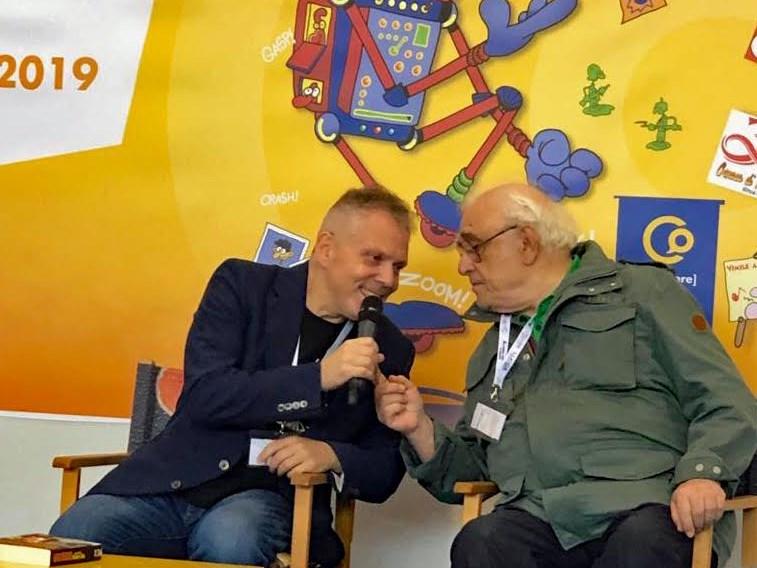 Burattini racconta Max Bunker: ad Acquaviva Comics il top della cultura del fumetto italiano