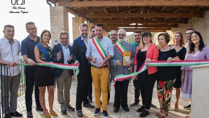 Inaugurazione del restaurato antico lavatoio comunale a Monteprandone