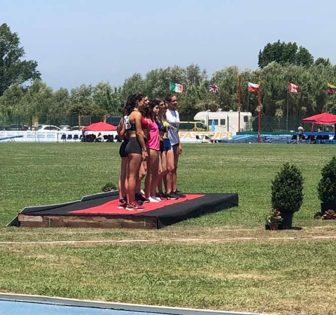Saf ai Campionati Italiani Allievi, soddisfazioni e record nel salto con l'asta