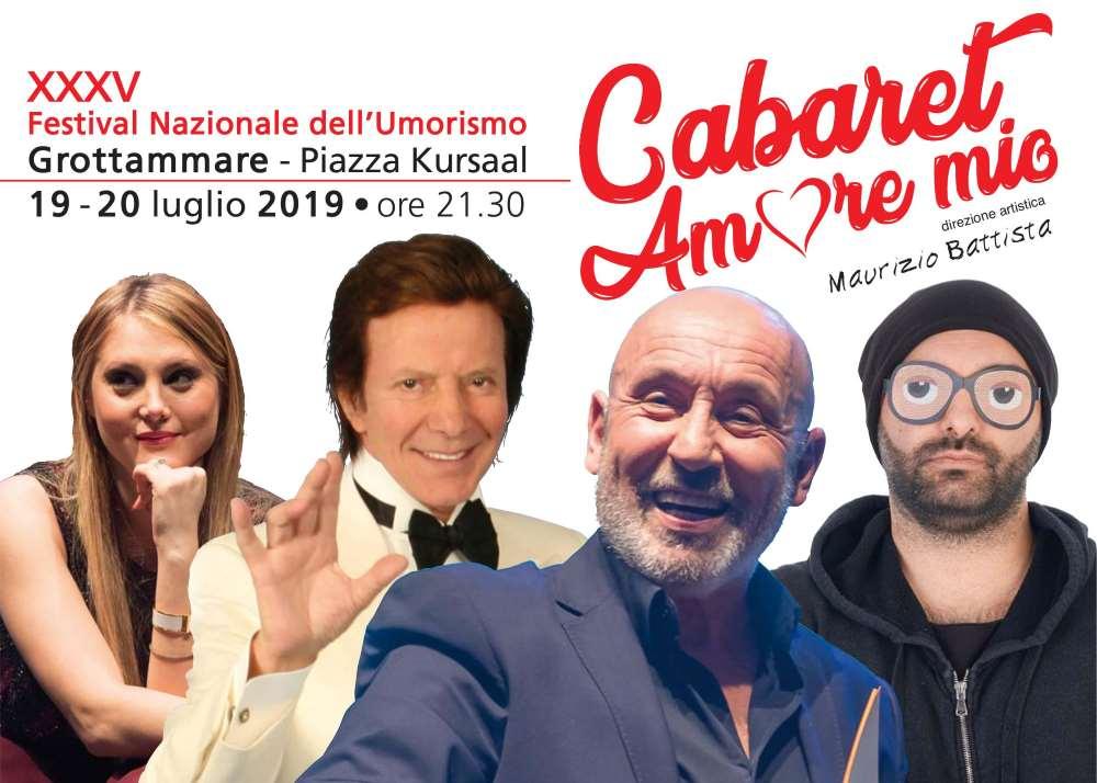 35° Cabaret, amoremio: al via le prevendite