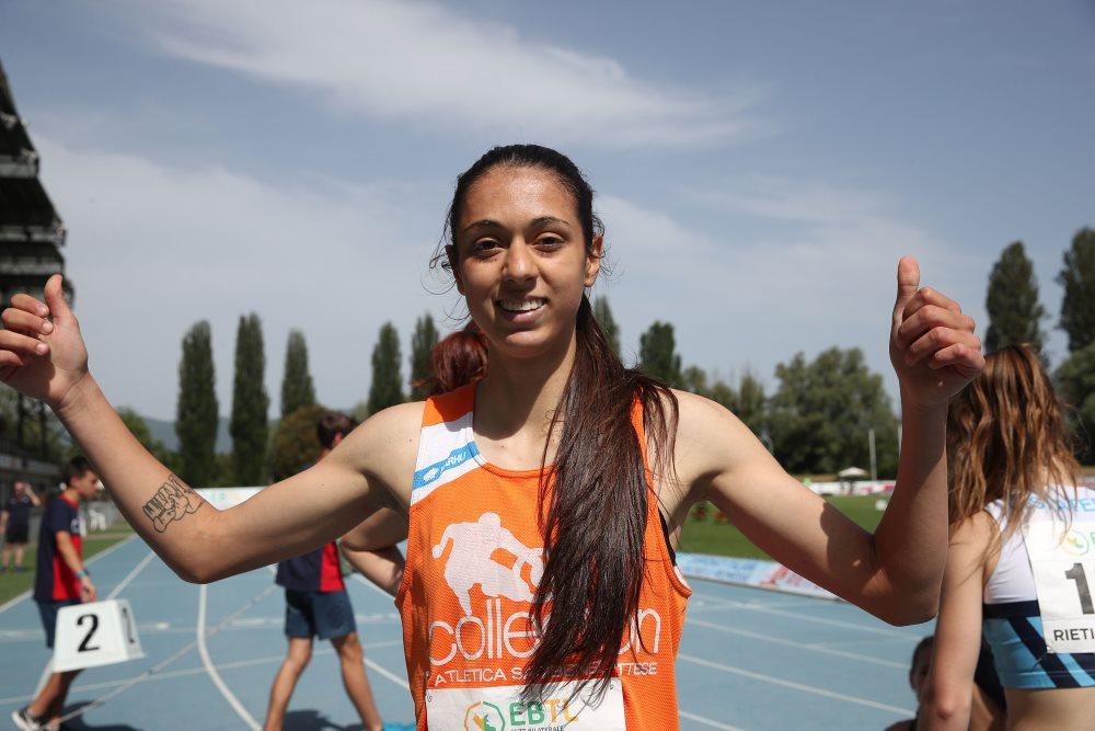 Emma Silvestri freccia tricolore ai campionati italiani