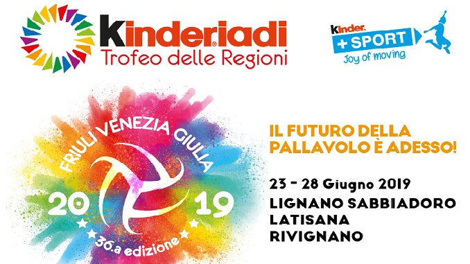 "Samb Volley al Trofeo delle Regioni ""Kinderiadi"""