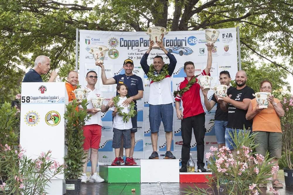 Automobilismo, 3a vittoria consecutiva di Merli alla Coppa Teodori