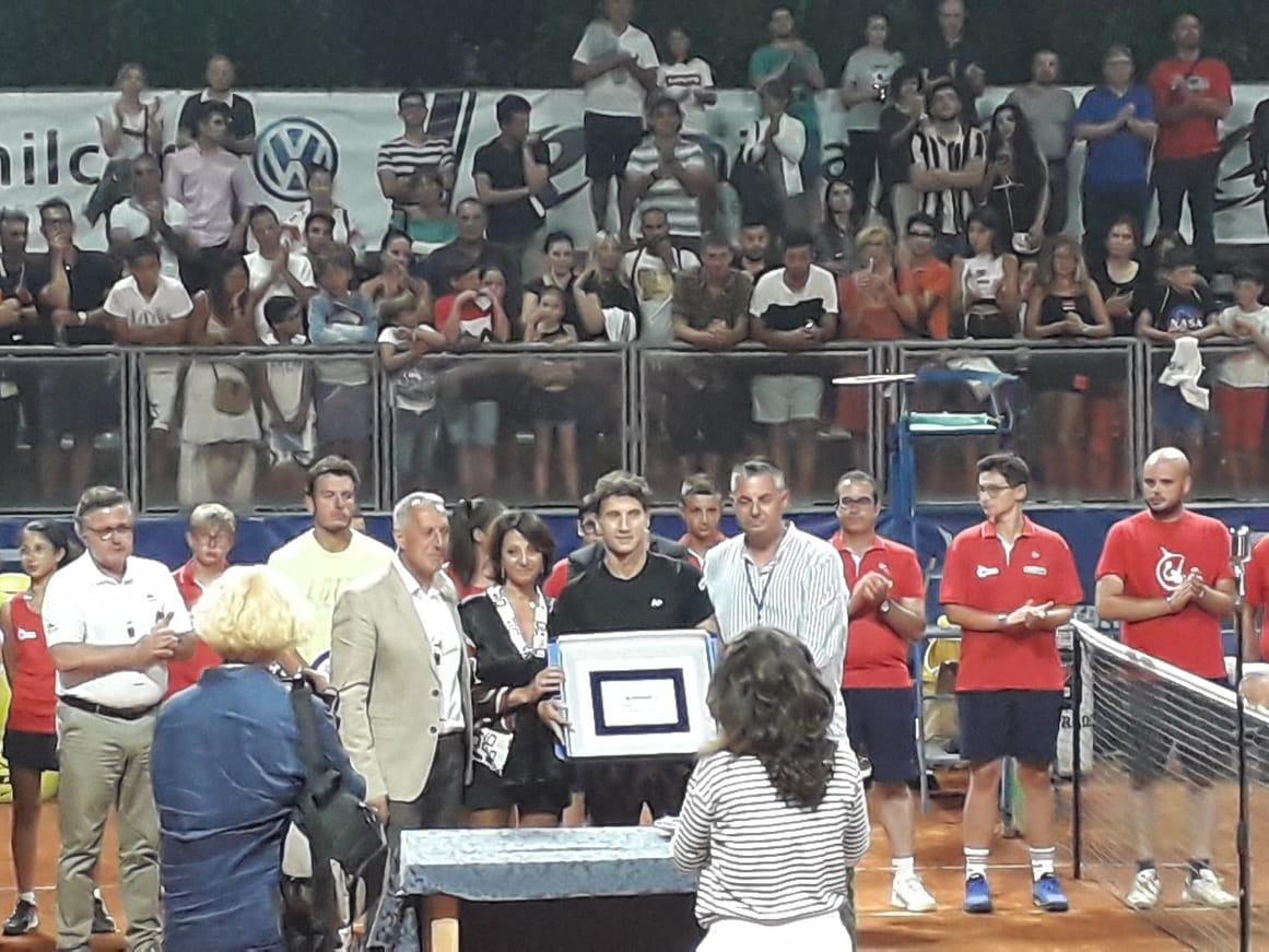 San Benedetto Tennis Cup: l'argentino Olivo trionfa dopo tre ore di battaglia